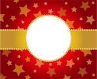 kolory obramiają czerwieni złotego xmas Obraz Stock