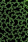 kolory uzupełniają podczerwień jigsaw ilustracja wektor