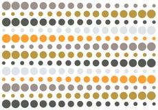 kolory w półtonach retro goły wzoru Zdjęcia Stock