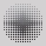 kolory w półtonach tła logo przestrzeni tekstu ilustracyjny wektora Obrazy Royalty Free