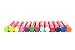 Kolory wosk kredki Obraz Stock
