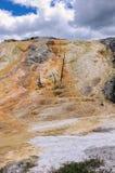 Kolory Yellowstone park narodowy fotografia royalty free