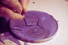 Kolorysta praca, zdjęcie stock