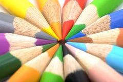 kolorystyka ołówki Obraz Royalty Free