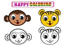 Kolorystyki książka dla dzieciaków Zdjęcia Royalty Free