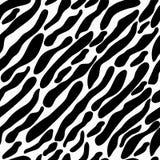 Kolorystyki zebra bezszwowa Fotografia Royalty Free