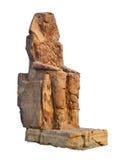 Kolos van Memnon, Egypte Stock Foto's