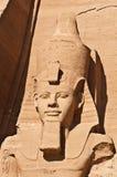 Kolos van Ramses II Stock Afbeeldingen