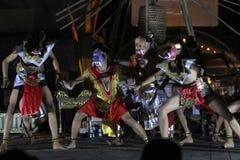 Kolosalny taniec Ramayana fotografia stock