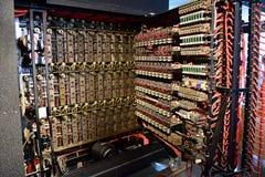 Kolosdigitale computer stock fotografie