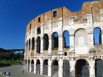 koloseum amfiteatrze sławny flavian Rzymu Zdjęcia Stock