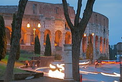 koloseum romana zdjęcia stock