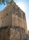 Kolosi kasztel, Cypr Fotografia Royalty Free