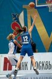 Kolosovskaya K. (12) vs Vidmer T. (4) Royalty Free Stock Images