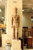 Koloss av den egyptiska farao på det egyptiska museet i cairo i Egypten Arkivbild
