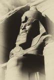 Koloss Rameses II Stockfotos