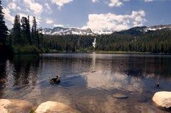 kolossala lakes Arkivfoton