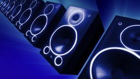 Kolossale Audiosprecher lizenzfreie abbildung