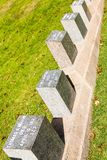 Kolossale Begraafplaats Plaats in de stad van Halifax in Canada waar t stock foto