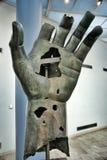 Kolossale Hand im Capitoline Museum Stockfotografie