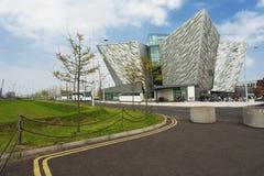 Kolossalt museum, nordliga Belfast - Irland Fotografering för Bildbyråer