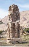Kolossen van Memnon Royalty-vrije Stock Afbeelding