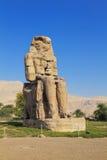 Kolossen van Memnon Luxor Royalty-vrije Stock Afbeeldingen