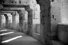 Kolosseum bei Arles Stockfoto