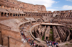 Kolosseum - Inside widok - Roma Włochy - Obrazy Stock