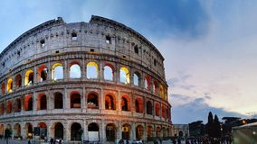 Kolosseum Roms Italien Stockfotografie