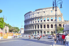 kolosseum ruiny Fotografia Stock
