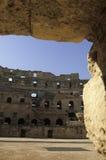kolosseum rzymski Tunisia Fotografia Stock