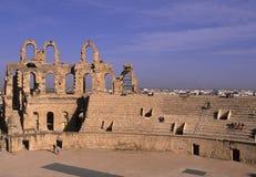 kolosseum rzymski Tunisia Obrazy Stock