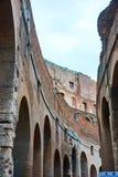 Kolosseumruinen der Arena Lizenzfreie Stockfotos