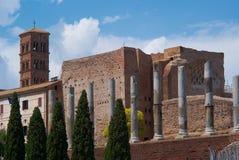 Kolosseumu amphitheatre w Rzym Włochy Zdjęcie Royalty Free
