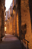 kolosseumu djem el rzymski Tunisia Zdjęcie Stock