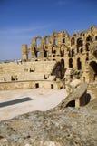 kolosseumu djem el rzymski Tunisia Zdjęcia Stock