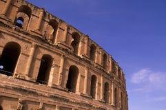 kolosseumu djem el rzymski Tunisia Obraz Stock
