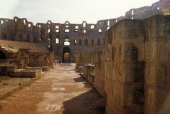 kolosseumu djem el rzymski Tunisia Zdjęcie Royalty Free
