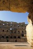kolosseumu djem el rzymski Tunisia Obrazy Royalty Free