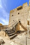 Kolossi,利马索尔,塞浦路斯中世纪城堡  免版税库存照片