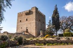 Kolossi城堡,战略重要堡垒 免版税库存照片