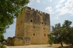Kolossi城堡 图库摄影