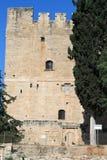 Kolossi Średniowieczny kasztel w Cypr obraz stock