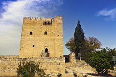 Kolossi castle in Cyprus. Stock Photos