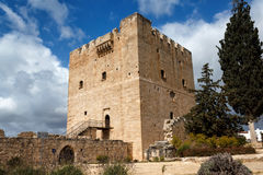 Kolossi Castle, Cyprus. Kolossi Castle,strategic important fort of Medieval Cyprus,fine example of military architecture. Limassol District Royalty Free Stock Photo