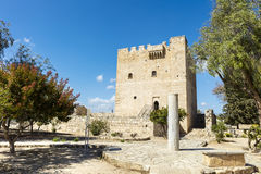 Kolossi castle in Limassol, Cyprus. Stock Photos