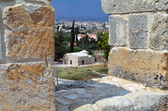 Kolossi Castle Stock Image