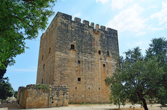 Kolossi Castle Royalty Free Stock Images