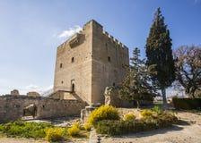 Kolossi Castle Stock Photo